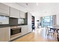 Brand new one bed flat with a private balcony & roof terrace moments from the City LT REF: 4887081