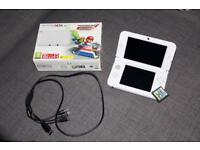 Limited Edition White Nintendo 3DS XL - Mario Kart 7 and Super Mario Bros