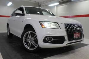 2014 Audi Q5 AWD Heated Lthr Nav Sunroof Btooth Pwr Gate Cruise