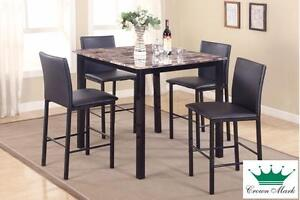 """Brand NEW """"Aiden Marble"""" Dinette! Call709-726-6466!"""
