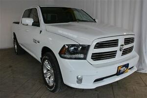 2015 Dodge Ram 1500 SPORT CREW CAB 4X4, LEATHER, NAV, SUNROOF