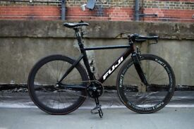 Fuji Track Bicycle, Carbon, Fixed, Singlespeed