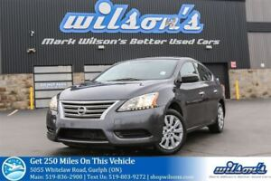 2014 Nissan Sentra S BLUETOOTH! CRUISE CONTROL! POWER PACKAGE! K