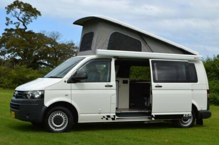VW Automatic Kombi Surf Bus Campervan with 4 Seats & Rear Shower
