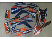 New Flu PTS2 KTM SX 85/105 13-15 Team Graphics/Sticker Kit Motocross
