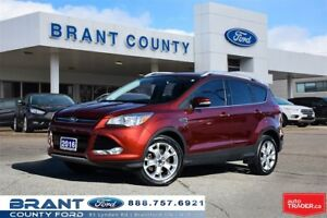 2016 Ford Escape Titanium - HEATED LEATHER, ROOF, NAV!
