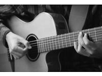 Guitar lessons with experienced teacher: all ages, acoustic and electric, different styles.