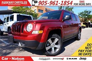 2016 Jeep Patriot HIGH ALTITUDE| 4X4| NAV| HTD SEATS| SUNROOF &