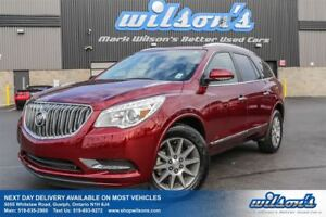 2016 Buick Enclave AWD! 7-PASS! LEATHER! SUNROOF! HEATED STEERIN