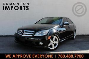 2008 Mercedes C300 4MATIC   CERTIFIED   ONLY 105 KMS