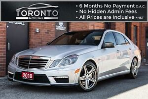 2010 Mercedes-Benz E-Class E63 AMG+NAVIGATION+CAMERA+PANORAMIC R
