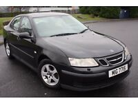 2004 SAAB 9-3 2.2 TiD LINEAR, DIESEL, MANUAL, SALOON, WITH PRIVATE PLATE ,, MIG7715,, P/X TO CLEAR !