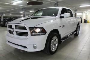 2014 Dodge Ram 1500 SPORT PLUS CREW 4X4 *FULL CUIR/CAMERA RECUL*