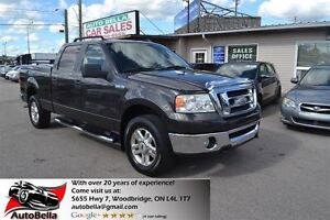 2007 Ford F-150 XLT 4X4 CREW CAB NO ACCIDENT