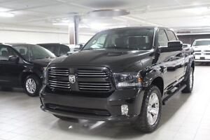 2015 Dodge Ram 1500 CREW SPORT PLUS 4X4 *CUIR/TOIT/NAV/CAMERA RE