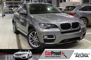 2013 BMW X6 xDrive35i (A8) with Navigation, Leather, Sunroof