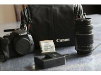 CANON EOS 600D kit+ CANON EF-S 55-250 mm