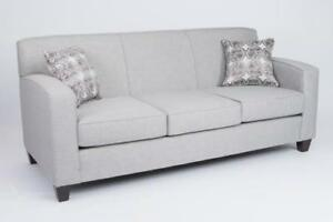 CANADIAN MADE FABRIC SOFA | COUCH SALE | MISSISAUGA / PEEL REGION (BD-438)