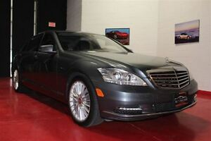 2010 Mercedes-Benz S-Class S550 4MATIC LONG-WHEELBASE/ NAVIGATIO