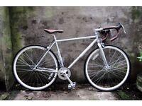 KINGSTON HOXTON, 20 inch small size, single speed road racing bike, fixie, flipflop wheel