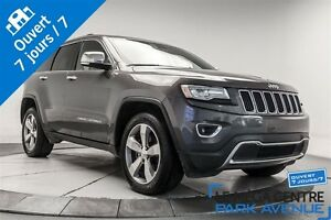 2014 Jeep Grand Cherokee Limited, AWD, NAV, CUIR, TOIT