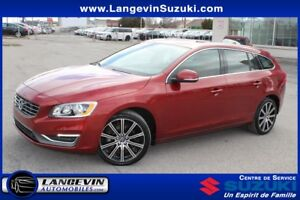 2015 Volvo V60 T6 R-DESIGN /AWD/CUIR/TOIT OUVRANT