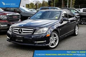 2012 Mercedes-Benz C-Class Navigation, Sunroof, and Heated Seats