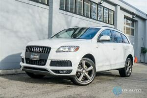 2014 Audi Q7 TDI Technik!! S Line! Loaded!