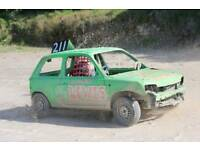 Small cars wanted for banger and stock car racing