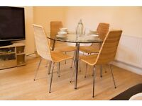 Just As New - Modern Dining Table set