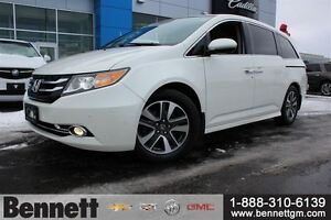2015 Honda Odyssey Touring - Leather, Navigation, DVD, Back Up C