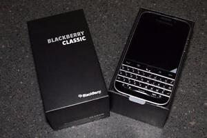 Unlocked Mint BlackBerry Classic with box