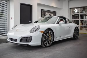 2017 Porsche 911 Targa 4S PDK * Plus de $40,000 en option*