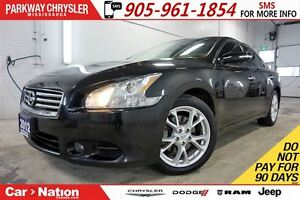 2012 Nissan Maxima SV| HEATED SEATS| SUNROOF| BLUETOOTH & MORE|