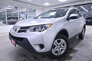 2014 Toyota RAV4 LE, RHT ORIGINAL ONE OWNER, BACK UP CAM, NO ACC
