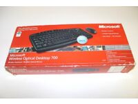 microsoft wireless keyboard and mouse set boxed