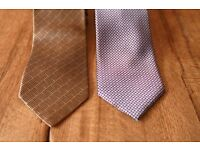 2 Brioni Gents/Mens Ties 100% Silk - Perfect condition