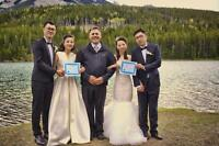 Marriage Commissioner - Canmore, Banff, Lake Louise