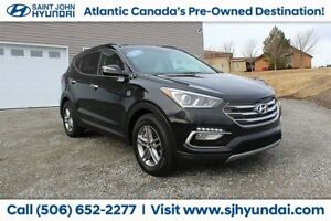 2018 Hyundai Santa Fe Sport SE! LEATHER! SUNROOF! AWD! WARRANTY!
