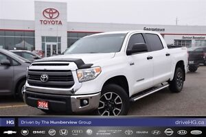 2014 Toyota Tundra CrewMax TRD with new tires!