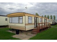 6 Berth Caravan For Hire PRICES START FROM £160..Golden Palm resort in Chapel St.Leonards