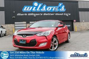 2013 Hyundai Veloster LEATHER TRIM! NAVIGATION! PANORAMIC SUNROO