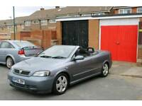 Vauxhall astra 1.6 cabriolet, low miles