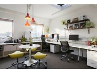 Large desk space available for rent in bright office in Clapham