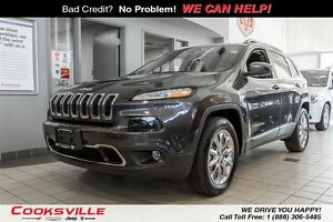2015 Jeep Cherokee Limited, LEATHER, 4WD, NAVI