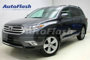 2013 Toyota Highlander Sport AWD V6 * 7-PASS * Cuir/Leather * Ca