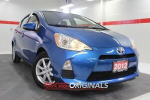 2012 Toyota Prius c Technology Nav Btooth USB Cruise Alloys Pwr