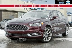 2017 Ford Fusion TOP OF THE LINE PLATINUM AWD!