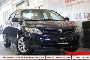 2013 Toyota Corolla SINGLE OWNER CE