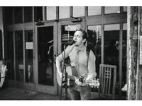 Professional singer/ guitarist available for weddings and events!